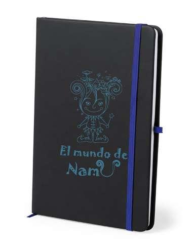 Bloc de Notas Negro - Mundo de Namu